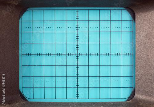 Fotografie, Obraz  Oscilloscope machine