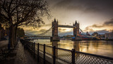 Fototapeta Londyn - Tower Bridge