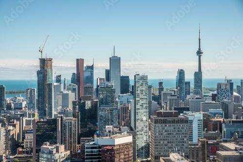 Fotografia  Scenic view of downtown Toronto