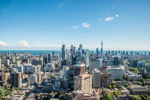 Tuinposter Toronto Scenic view of downtown Toronto