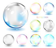 虹色のシャボン玉  Glass Ball