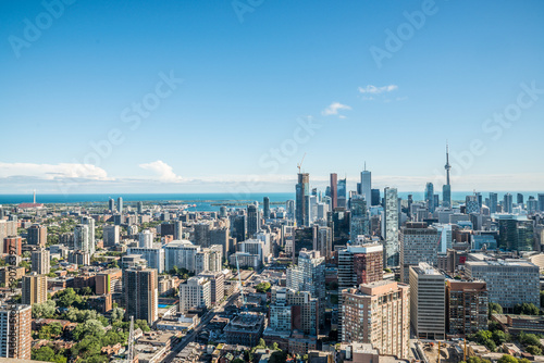 Stampe Scenic view of downtown Toronto