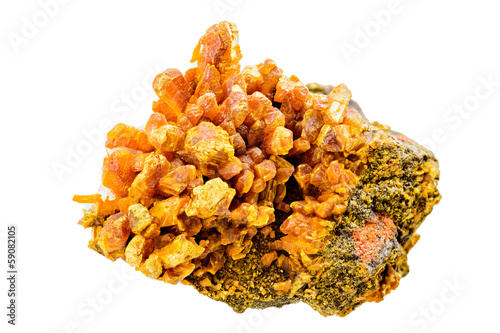 Photo Orpiment mineral sample