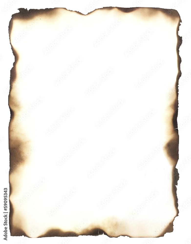 Fototapety, obrazy: Burned Edges Frame