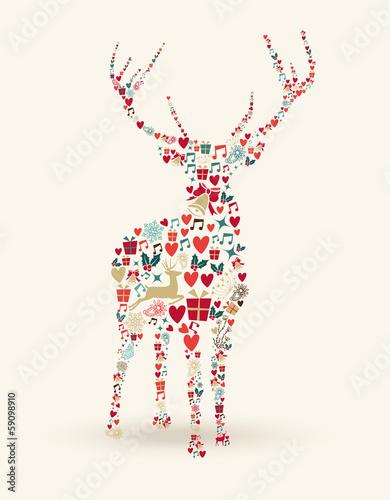 kolorowy-jelen-bozonarodzeniowy
