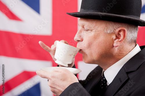 Fotografía  Drinking English Tea