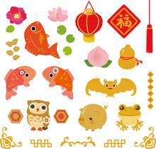 中華風の縁起物