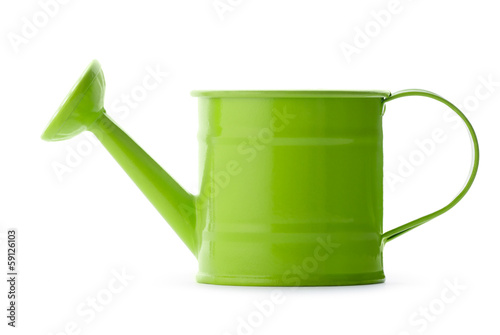 Obraz na płótnie Green watering can