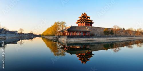 Poster de jardin Pekin Imperial Palace