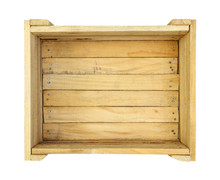 Wooden Box (with Clipping Path...