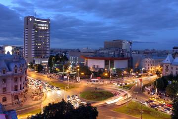 fototapeta Plac Uniwersytecki, Bukareszt, Rumunia