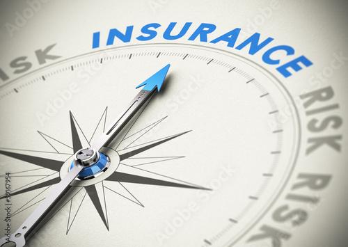 Fotografie, Obraz  Insurance or Assurance Concept