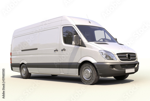 Tablou Canvas Commercial van