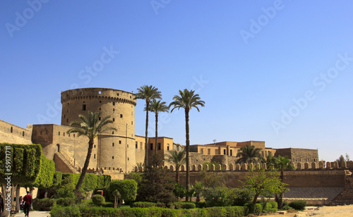 Obraz na płótnie Towers of Mohamed Ali Citadel in Cairo