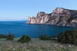 "Rocky coastline of ""Novyi Svet"" recreation area"