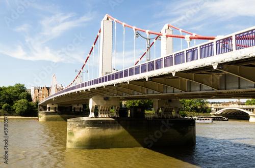 Chelsea Bridge Poster