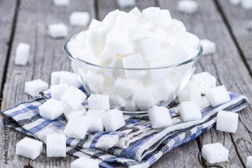 Fotografie, Obraz  Portion of white sugar