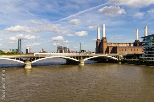 Fotografia  Chelsea Bridge