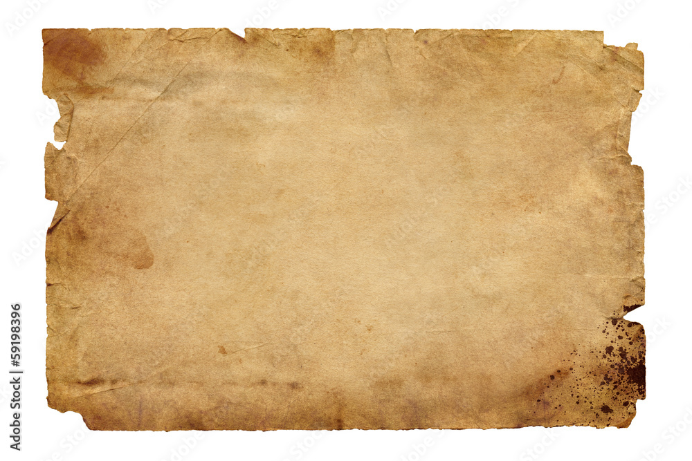Fototapety, obrazy: Old brown paper