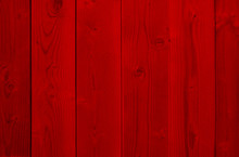 Red Old Vintage Wood Christmas Or Valentine`s Day Background