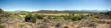 Arid Karoo Landscape Showing Characteristic Hills