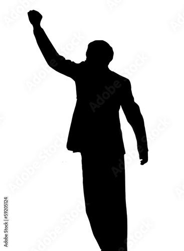 Photo Nelson Mandela.