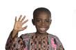 canvas print picture Afrikanischer Junge Portrait