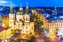Evening Prague, Czech Republic