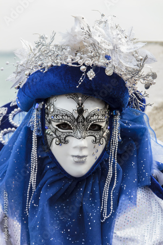Photo Stands Painterly Inspiration Venetian carnival mask