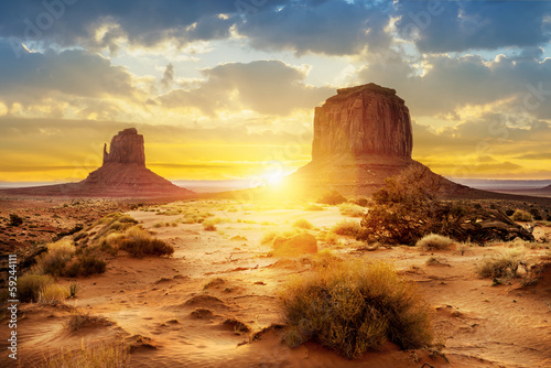 Fotografie, Obraz  Monument Valley