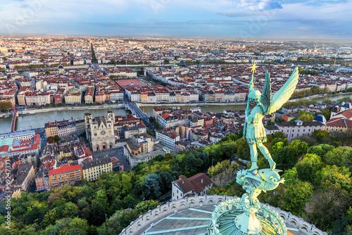 Valokuva  Lyon view