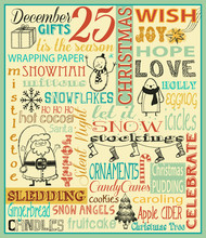 Christmas Typography Poster