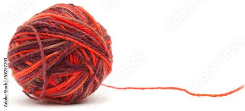 Fotografie, Obraz  knitting wool