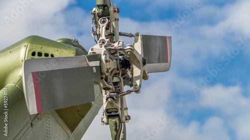 Fotografia, Obraz  Helicopter tail rotor