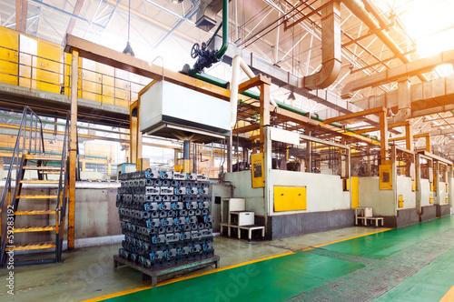 Staande foto Industrial geb. Industrial space