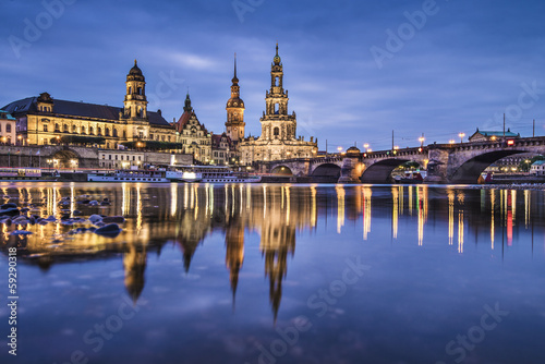 City on the water Dresden, Germany