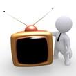 Mr. Smart Guy mit 3D Fernseher