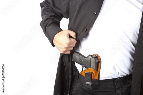 Staande foto Dragen Conceal carry