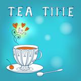 Tea card.