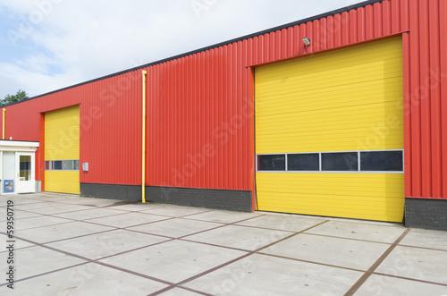 Staande foto Industrial geb. industrial warehouse