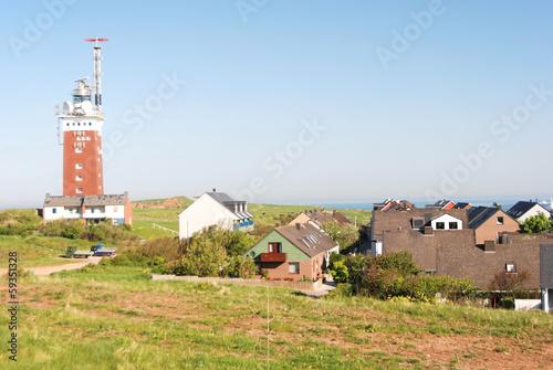 Leuchtturm auf Helgoland Canvas Print