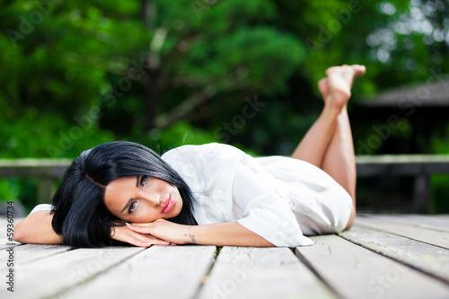 Fototapeta Pretty Woman obraz na płótnie