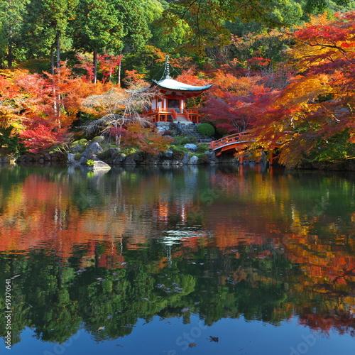 Foto op Canvas Japan 秋の醍醐寺