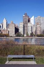 Manhattan Skyline From Roosevelt Island, New York City