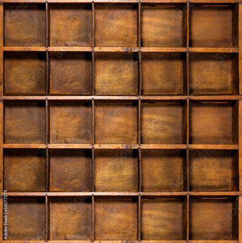 Fotografie, Obraz  bacheca di legno antica