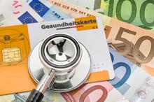 Stethoskop Mit Gesundheitskart...