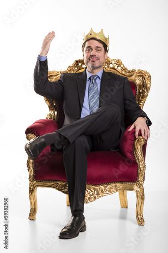 Photo Boss sieht sich als König