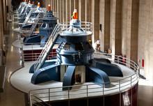 Hoover Dam Powerhouse Generators