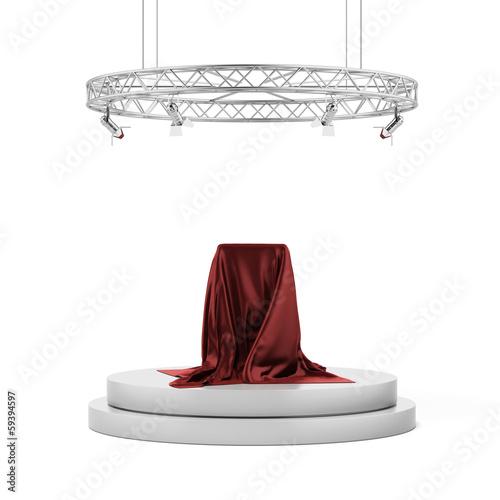 Fotografie, Obraz  pedestal covered