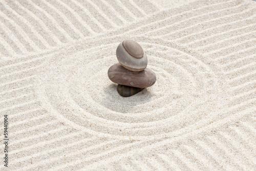 Valokuva  galets sur sable